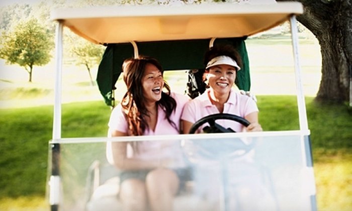 Hidden Oaks Golf Course - Vienna: $32 for 18 Holes of Golf for Two, Golf Cart Rental, and Two Buckets of Balls at Hidden Oaks Golf Course (Up to $64 Value)