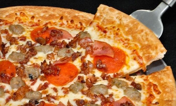 Tasty Crust Pizza - Warner Robins: $7 for $15 Worth of Pizza and Drinks at Tasty Crust Pizza in Warner Robins