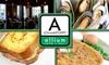 Allium Cafe and Bar - Stadium Area: $25 for $50 Worth of Bistro Cuisine and Drinks at Allium Café and Bar