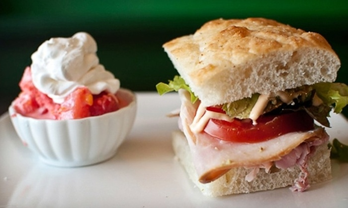 Relish - Clarksville: $5 for $10 Worth of Gourmet Café Fare and Drinks at Relish in Clarksville
