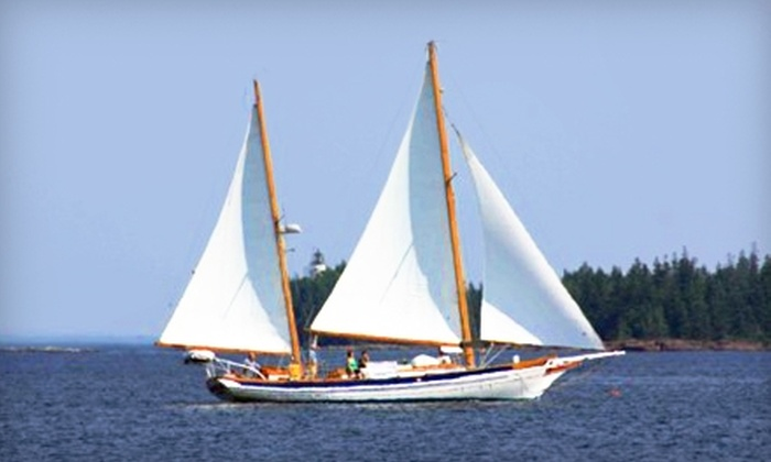 """Morning in Maine - Rockland: $17 for Day Sail on """"Morning in Maine"""" at Rockland Harbor, Rockland ($35 Value). Two Options Available."""
