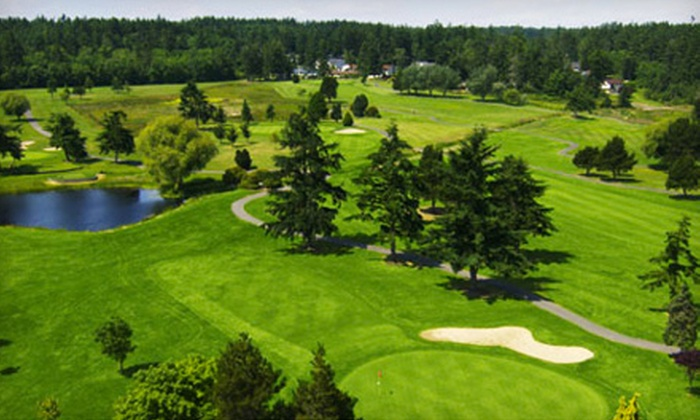 Whidbey Golf and Country Club - Oak Harbor: $39 for a Golf Outing with Cart and Range Balls at Whidbey Golf and Country Club in Oak Harbor (Up to $85 Value)