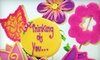 Cookie Messenger - Vaughan: Nine-Cookie Mixed Floral Bouquet or $20 for $40 Worth of Cookie Bouquets from The Cookie Messenger (Up to 52% Off)