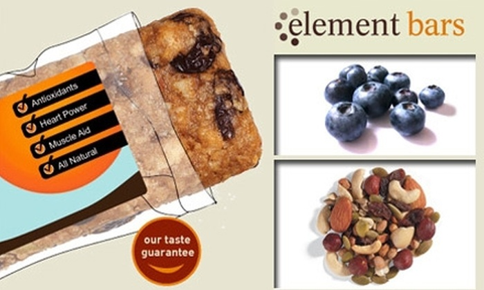 Element Bars Inc - New Orleans: $20 for $42 Worth of Custom Energy Bars from Element Bars