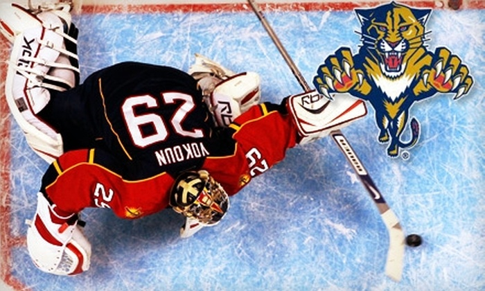 Florida Panthers - Sawgrass Preserve: One Ticket to Your Choice of Three Florida Panthers Games  (Up to $95 Value)