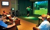 Tee Times Indoor Golf - Toronto - Vaughan: $45 for Two Hours of Indoor Virtual Golf and Equipment Rental for Two at Tee Times Indoor Golf in Vaughan (Up to $146.90 Value)