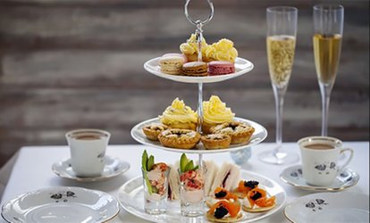 image for Sparkling Afternoon Tea for Two or Four at Opera Tea Rooms (43% Off)