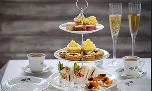 Opera Tea Rooms: Sparkling Afternoon Tea for Two or Four at Opera Tea Rooms (43% Off)