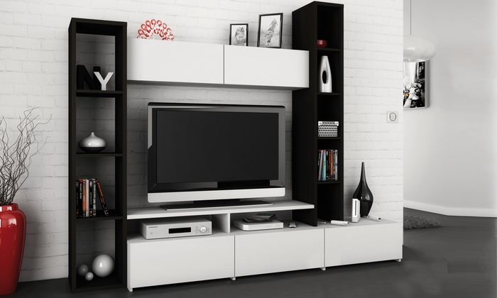 Parete porta TV Auburn | Groupon Goods