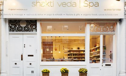 Organic Pamper Package with Ayurvedic Treatments at Shakti Veda Spa (Up to 56% Off)