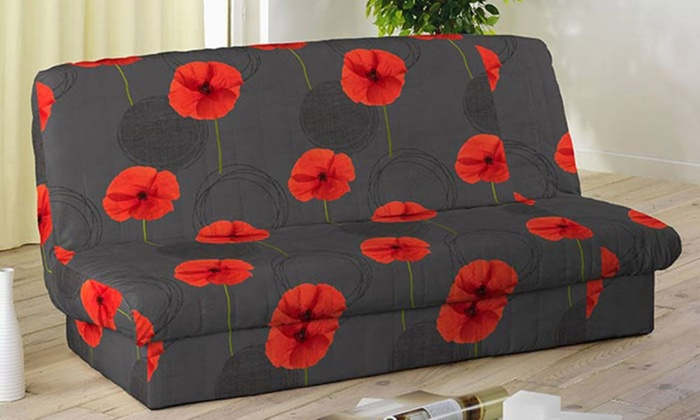 housse de clic clac imprim e bande de socle groupon shopping. Black Bedroom Furniture Sets. Home Design Ideas