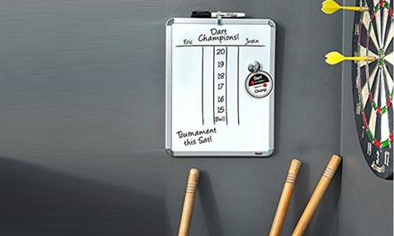 Magnetic Whiteboard with Markers from AED 49