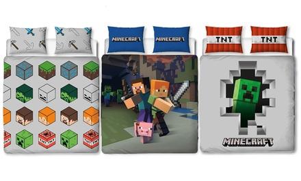 Housse de couette Minecraft simple ou double