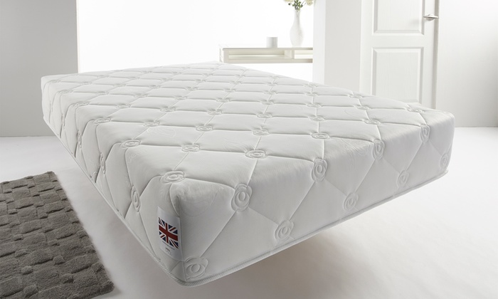 Comfort Memory Foam Mattress with Aloe Vera Cover from £90 With Free Delivery