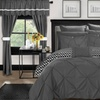Reversible Comforter Complete Bed in a Bag Set with Sheets (20-Piece)