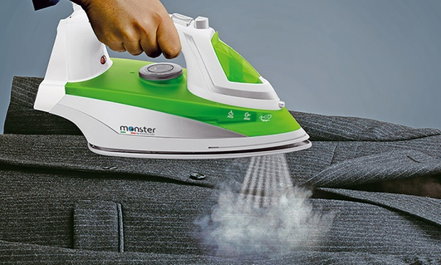 $59 for a Monster Iron with Pressurised Steam Plus Accessories