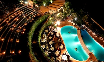 Taormina 4*L: 1 notte in mezza pensione + Spa, spiaggia e piscina Taormina Resort & Spa 4*L