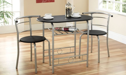 Compact Dining Set in Choice of Colour With Free Delivery