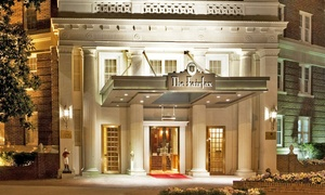 Stay At The Fairfax At Embassy Row In Washington, Dc. Dates Into February.