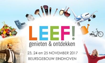 Tickets voor lifestylebeurs LEEF! op 23 t/m 25 november 2017 in Beursgebouw Eindhoven