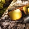 Earth Wood Talisay and Aroa Men's Sunglasses