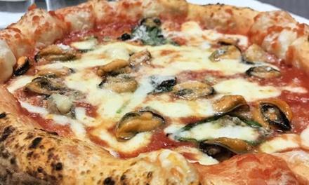 Antipasto, pizza, dolce e birra a 14,90€euro