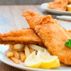 Fish and Chips £3.50