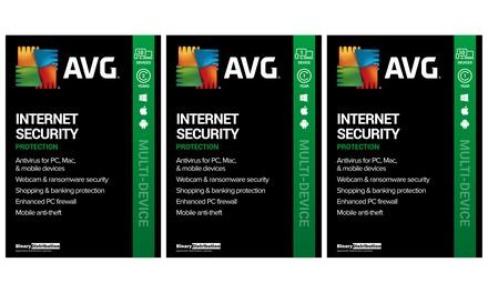 Groupon.it - AVG Internet Security 2021 per 1 o 10 dispositivi per 1 o 2 anni