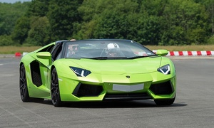 The Supercar Event: The Supercar Event: Entry For Two Adults or A Family of Four at Dunsfold Park (50% Off)