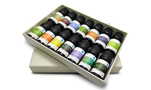 Pursonic 100% Pure Essential Aromatherapy Oils Set (6- or 14-Pack)