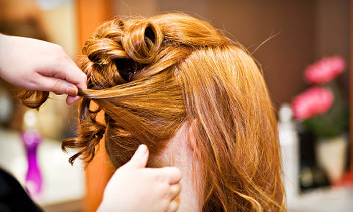 Renaissance Salon - Lake Ronkonkoma: Trial Bridal Hairstyling or Trial and Day-Of Styling at Renaissance Salon (Up to 62% Off). Three Options Available.
