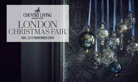 Country Living Christmas Fair, Adult Tickets, 1317 Nov and 58 Dec 2019, London and Harrogate