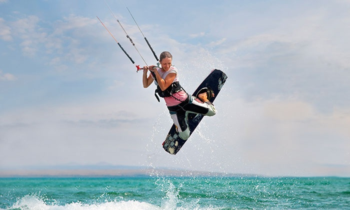 Best Pro-Kiteboarding - Maximo: 60-Minute Introductory Kiteboarding Class for One or Two at Best Pro-Kiteboarding (Up to 54% Off)