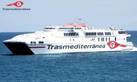 Billetes de fast-ferry ida y vuelta de Alcudia a Ciudadela o viceversa desde 6,76 € en Trasmediterránea