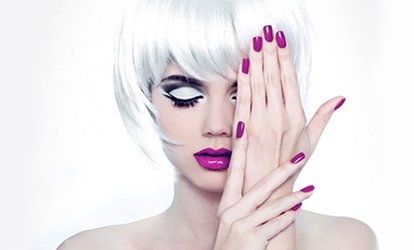 image for Shellac Manicure, Pedicure or Both at V3 Fitness & Beauty (Up to 49% Off)