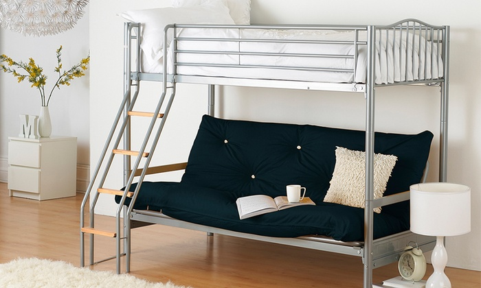 Groupon Goods Global GmbH: Futon Triple Sleeper for £389.99 With Free Delivery (35% Off)