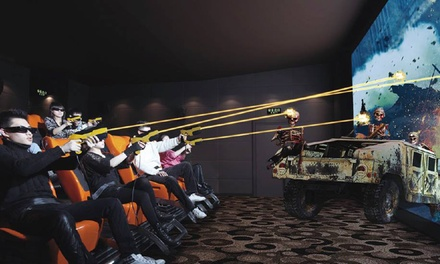 $9.90 for a Ticket to a 7D Motion Ride at 7D Amazing XperiencE in Suntec City Mall (worth $15). More Options Available