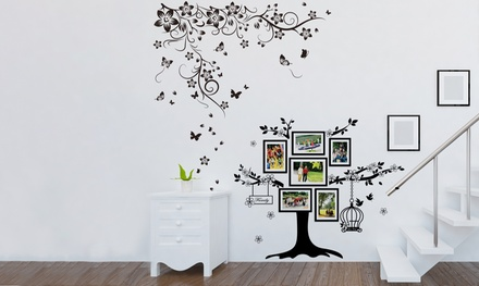 Walplus Butterfly Vine Wall Stickers