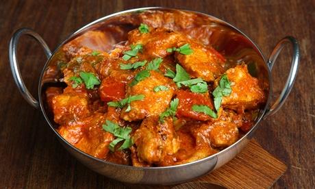 Menu indiano con primo, secondo alla carta, dolce e birra, vino o bevanda tipica al ristorante Real Taj M