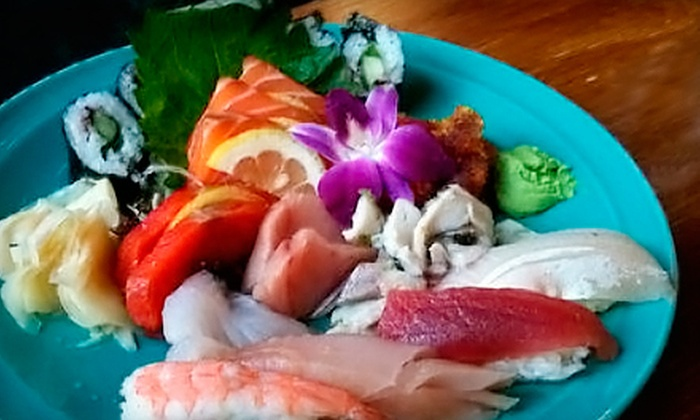 Moshi Moshi Sushi - Seattle: $17.50 for $35 Worth of Sushi and Drinks at Moshi Moshi Sushi