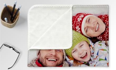 custom blankets groupon