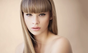 Lorenzo Lawrence salon: Women's Cut, Full Color, or Partial Highlights with Style at Lorenzo Lawrence Salon (Up to 56% Off)
