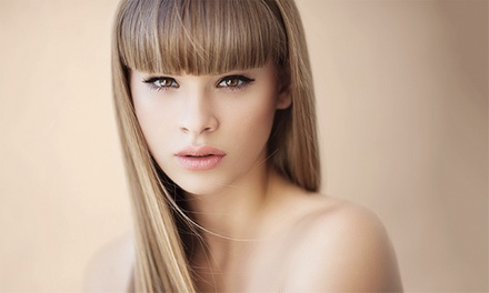 Women's Cut, Full Color, or Partial Highlights with Style at Lorenzo Lawrence Salon (Up to 62% Off)