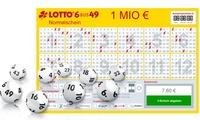 Wertgutschein über 7,60 € anrechenbar auf LOTTO 6aus49, Spiel77, SUPER6, EUROJACKPOT oder Glücksspirale bei lottobay