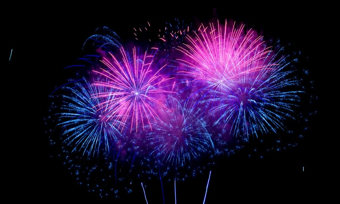 Pro Fireworks - Multiple Locations: Celebratory Fireworks Packages at Pro Fireworks (Up to 60% Off). Five Options Available.