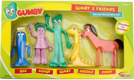 Gumby & Friends Bendable Boxed Set c85f47d0-3e97-4c91-8c5f-dd58d276a5cc