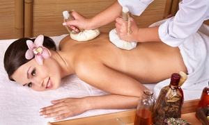 Tea Spa: Herbal Sesame Facial or Massage with Mimosa or Tea Time for an Individual or Couple at Tea Spa (Up to 50% Off)