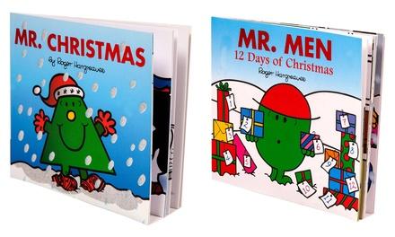 Two Mr Men Christmas Books