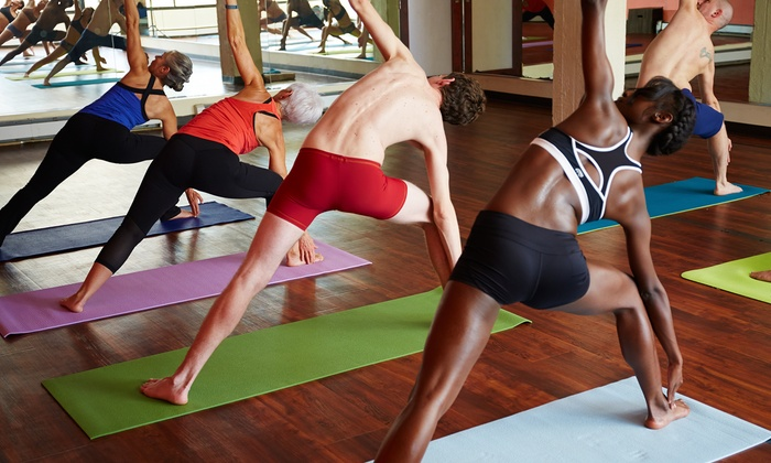 Live Well Hot Yoga - Longport: $25 for $55 Worth of Services — Live Well Hot Yoga