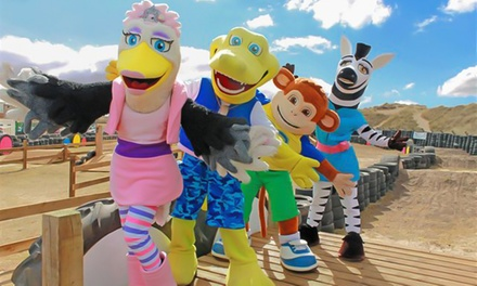 UK Locations: SevenNight Summer Entertainment Break for Up to Four People with Pontin's Family Holiday Parks